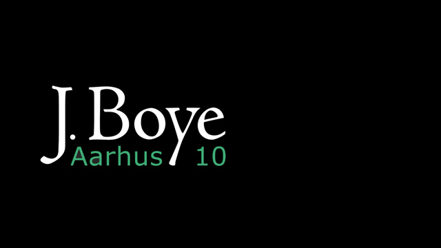 Aarhus 2010 – A Recap of the J.Boye Conference